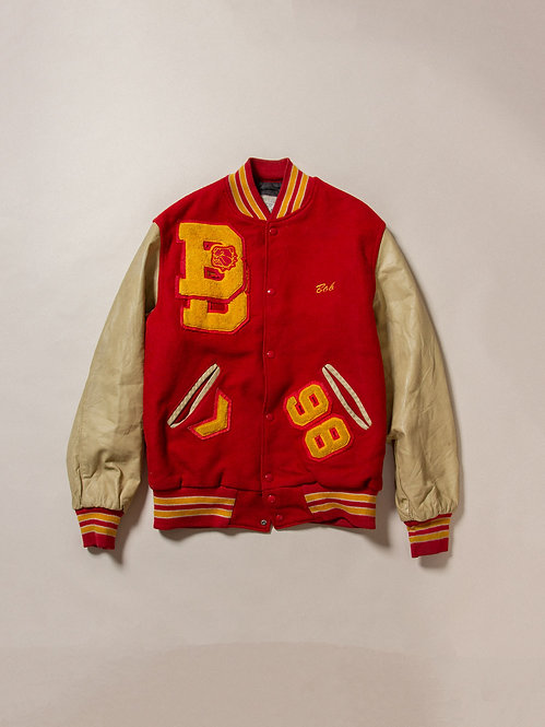Vintage Batavia Bulldogs Football Jacket (M)
