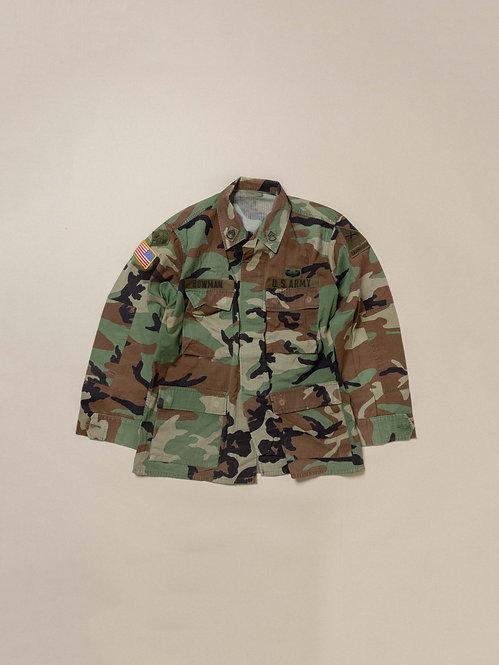 Vtg US Army Woodland Jacket (M-Regular)