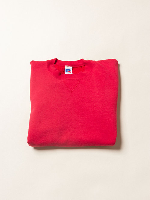 Vtg Red Russell Athletic Sweatshirt - Made in USA (L)