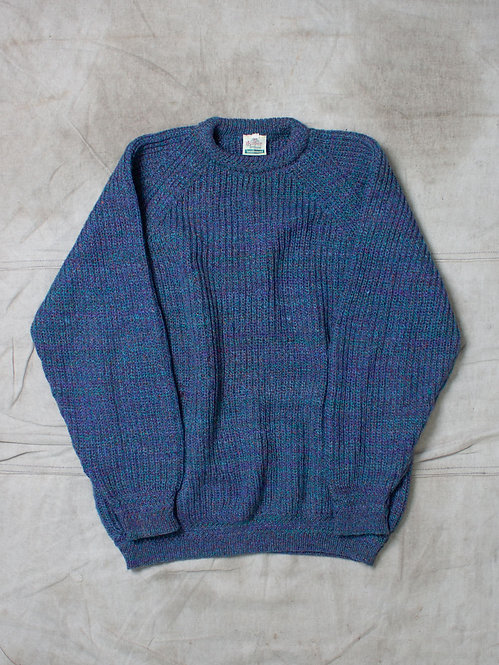 Vtg Handloomed Wool/Silk Sweater (XL/XXL)