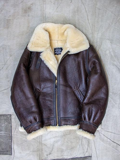 Vintage schott b3 shearling jacket 30s us airforce usaf