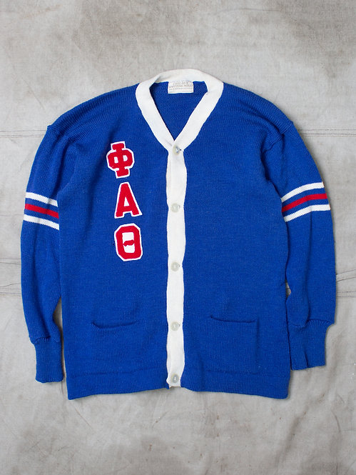 Vintage Phi Alpha Theta Cardigan (XL)