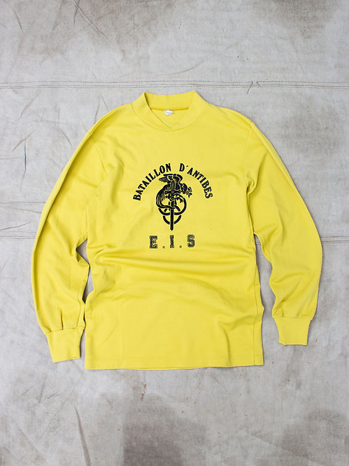 Vtg 1980s Bataillon d'Antibes Sports Jersey (M)