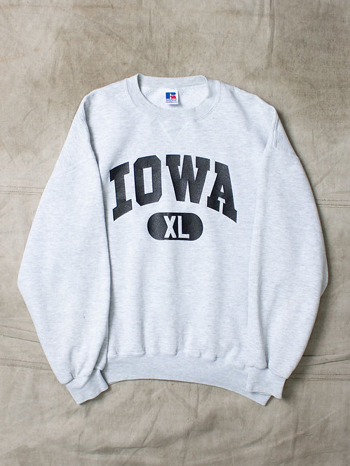 Vtg Russell Athletic Iowa Sweatshirt (L/XL)