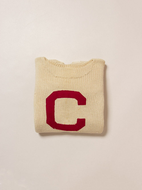Vintage 1940s Letterman Sweater (M)