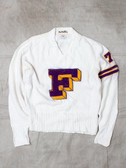 Vintage 1972 V Neck Sweater (L)