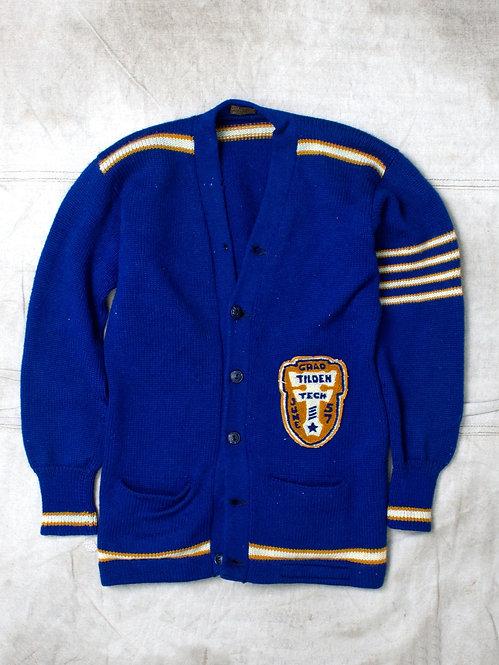 Vintage 1957 Tilden High School Cardigan (M)