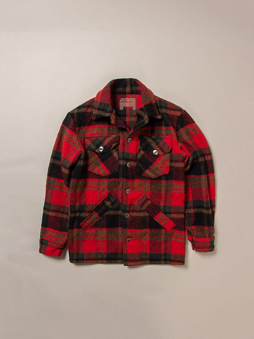 Vtg Checkered Plaid Jacket (S)