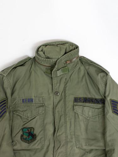 c13b722353b ... Vtg USAF M-65 Field Jacket (M Reg)