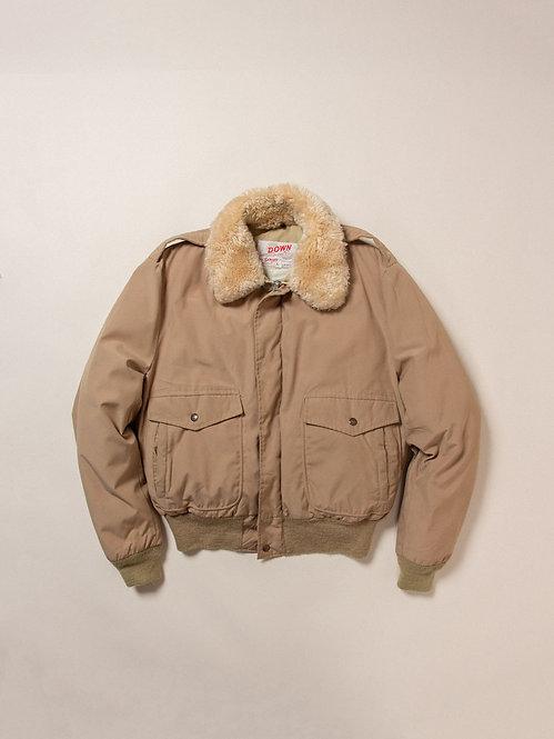 Vintage Schott Down Filled Flight Jacket (M)