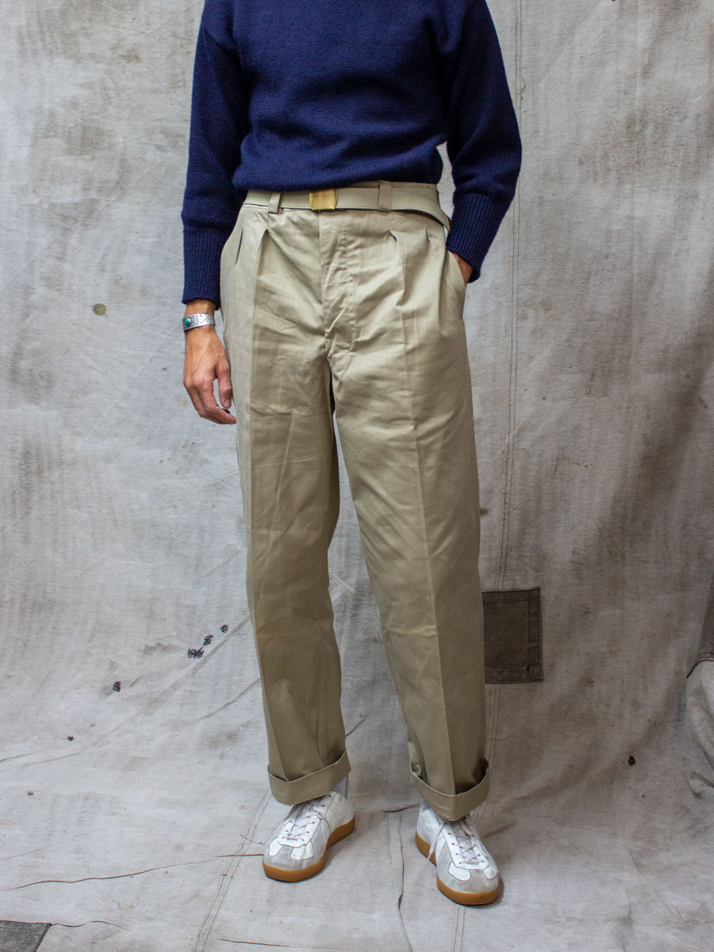 Size W40 Vintage French Trouser Dead-stock FT22
