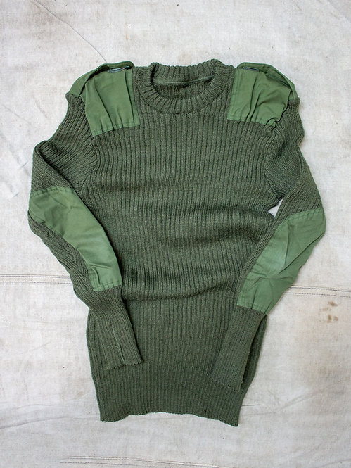 1970's Belgian Army Commando Wool Knit