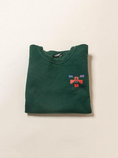 Vtg British Army Med Troop Sweatshirt (L)
