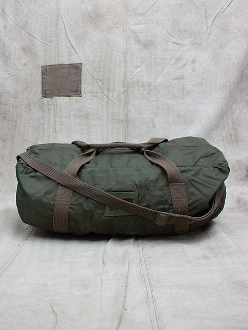 Vtg French Army Parachute Bag