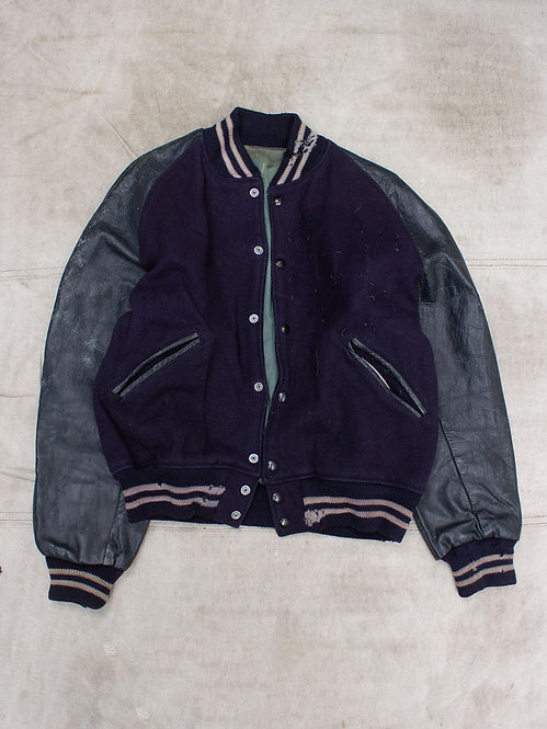 Vtg 1960s Varsity Jacket (L)