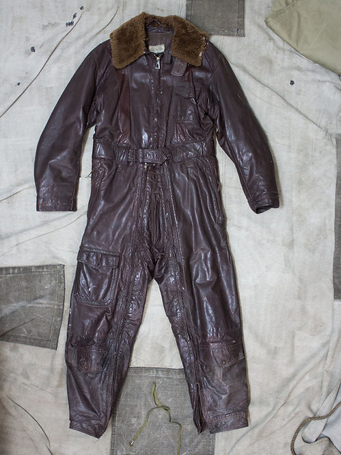 RARE WW2 USN Electrically Heated Flight Suit (38)