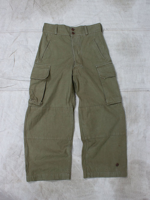 Vintage French Army M-47 Field Trousers (31x27)