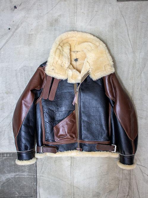 Aero Leather Clothing Co USAAF Type B-3 Shearling Sheepskin Jacket WW2