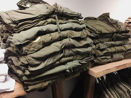 M-65 field jackets, all sizes available