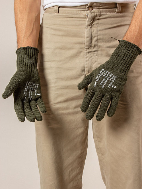 Deadstock US Army Wool Gloves