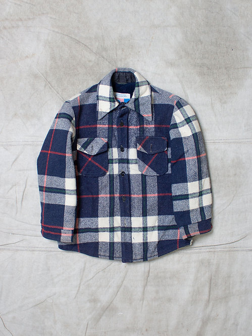 Vtg Sears Plaid Jacket (XS)