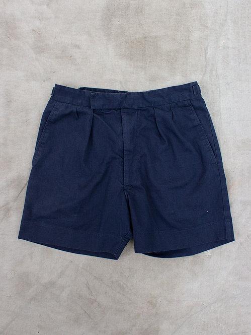 British Royal Navy Pleat Shorts