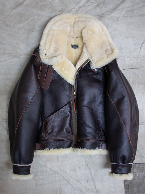 Aero Leather Clothing Co USAAF Type B-3 Shearling Sheepskin Jacket WW2