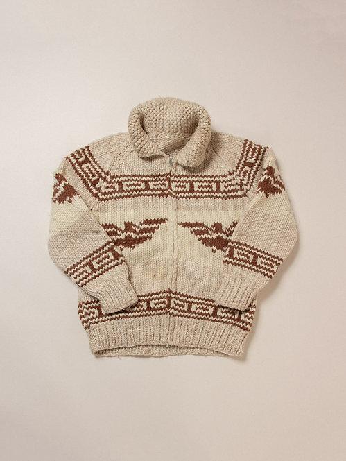 Vtg Cowichan Hand Knit (S/M)