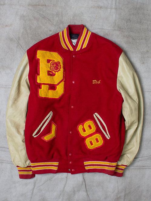 Vintage Batavia Bulldogs Football Jacket (M)