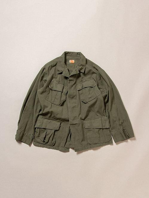 Vtg US Army Rip Stop Jungle Jacket (M-Short)