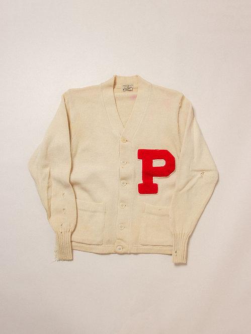 Vintage Letterman Award Sweater (M)