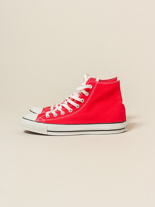 NOS Early 2000s Converse All Star - Red