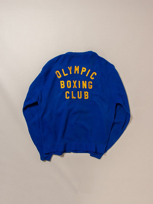 Vtg Olympic Boxing Club Cardigan (L)