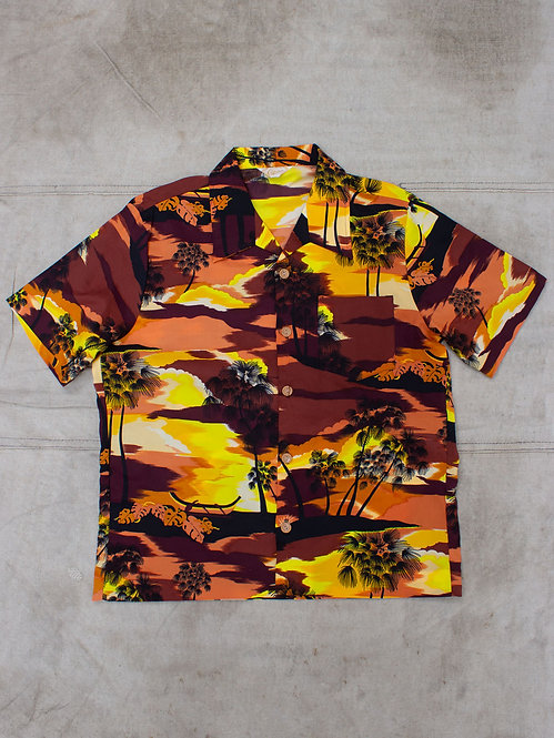 Vtg 1970s Hawaii Shirt (M)