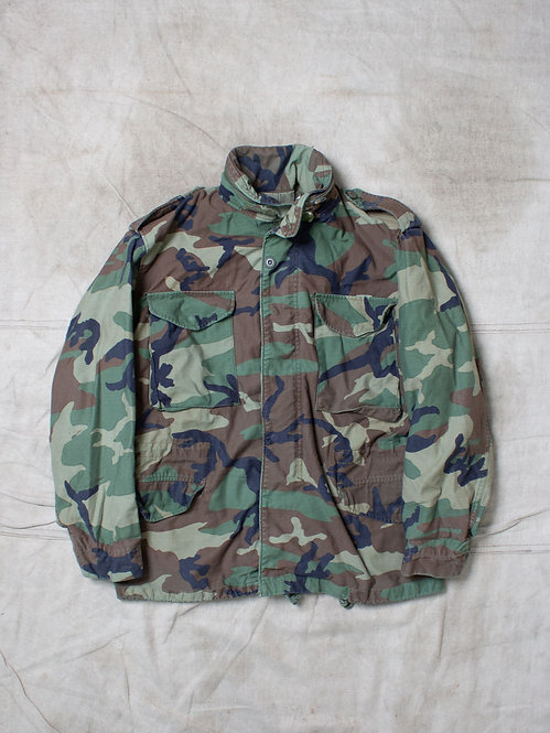 Vtg US Army M65 Camo Field Jacket (M-Regular)