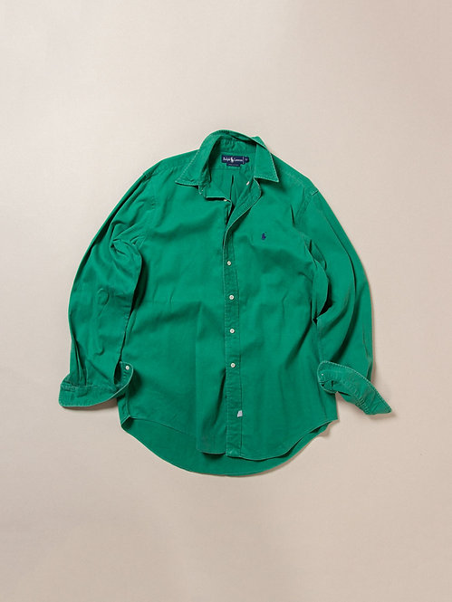Vintage Ralph Lauren BD Cotton Twill Shirt (L)