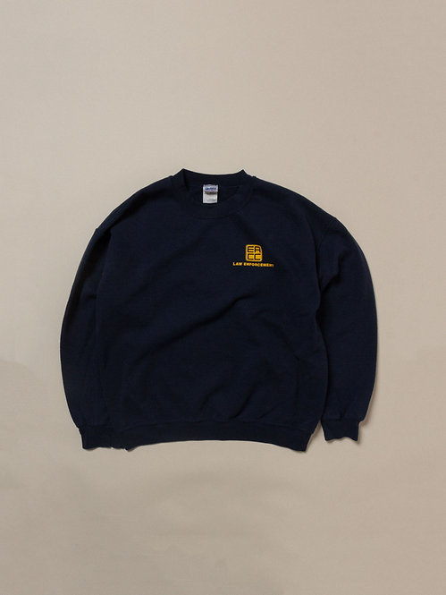 Vintage Law Enforcement Sweatshirt (L)