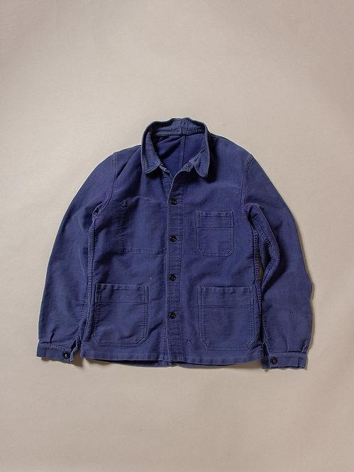 Vtg French Moleskin Jacket (S)