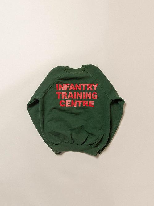 Vtg British Army ITC Sweatshirt (XS/S)