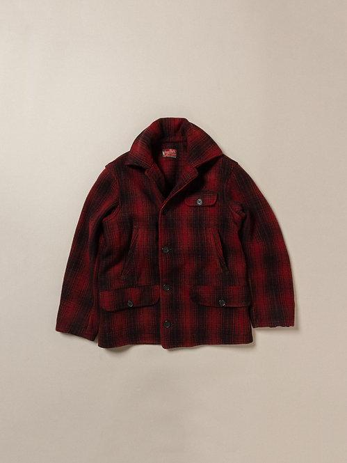Vtg 1940s Pennrich Buffalo Wool Jacket (M)