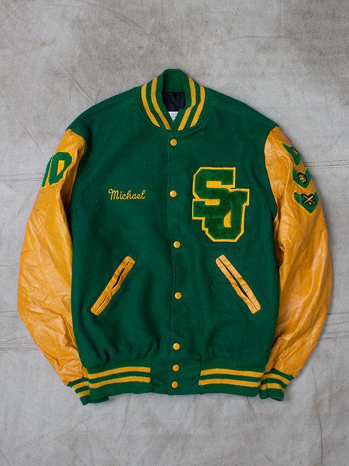 Vintage Holloway Letterman Jacket (M)