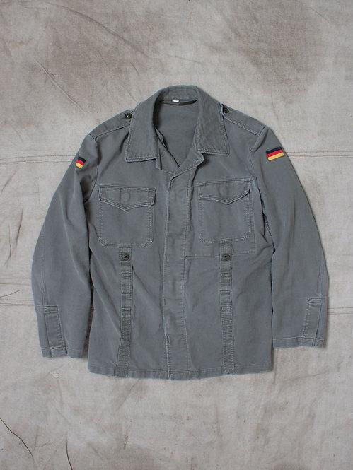 Vtg German Army Cotton Field Jacket (M)