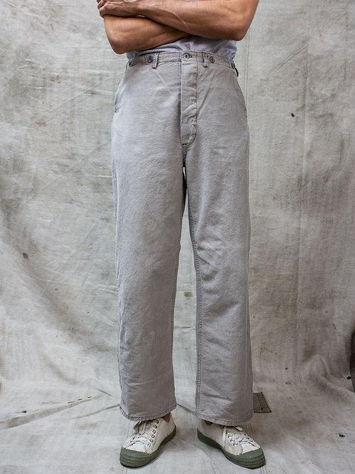 1930s-1940s Swedish Army Work Pants