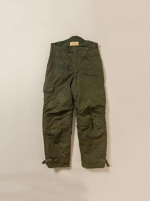 Vtg 1960s Stenciled USN Extreme Cold Weather Deck Pants