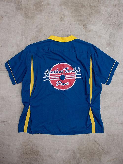 Vtg Gunther Toody's Diner Shirt (XL/XXL)