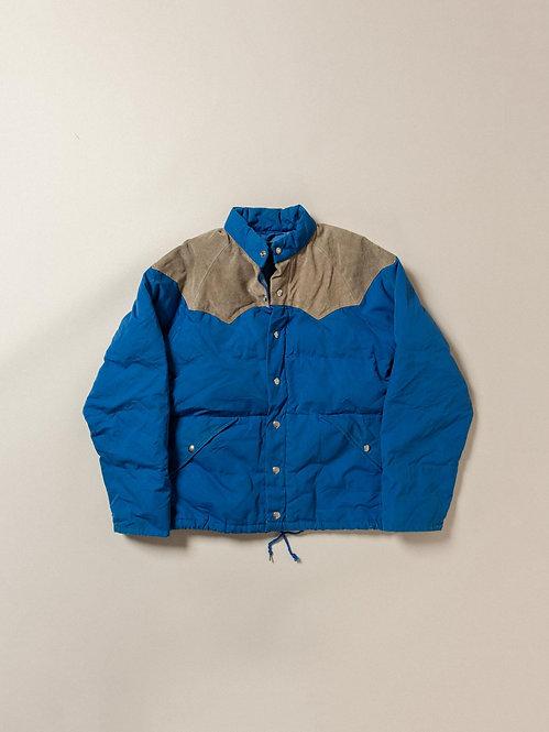 Vtg Down Puffer Jacket (S)