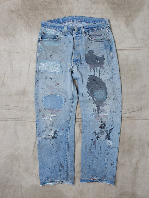 Vintage Levis 505 Made in USA (32x28)