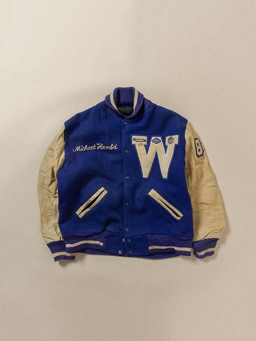 Vtg Athletic Sports Jacket (S)