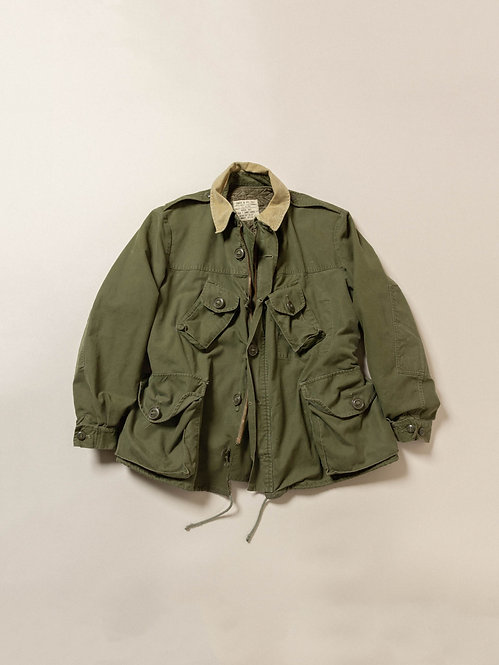 Vtg 1960s Canadian Army Combat Field Jacket (L-Short)