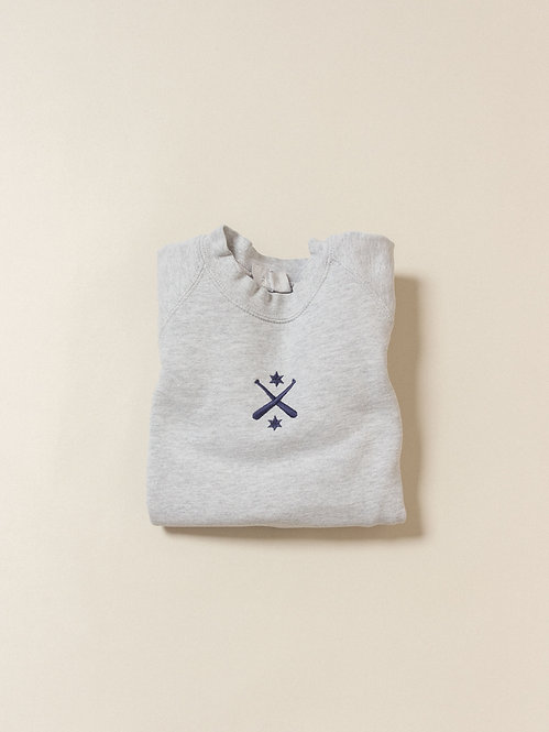 Vtg British Army Raglan Sweatshirt (Women's S)